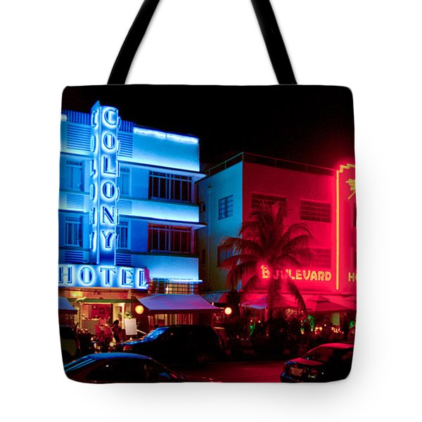 The Ocean Drive Tote Bag