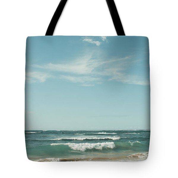 The Ocean Of Joy Tote Bag by Sharon Mau