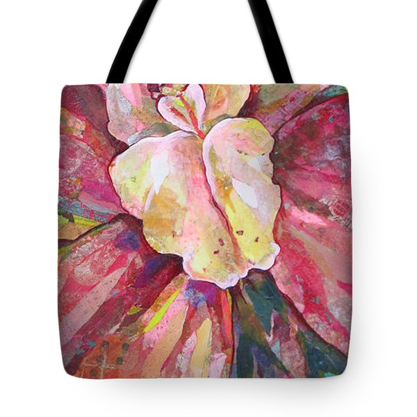 The Orchid Tote Bag by Shadia Derbyshire