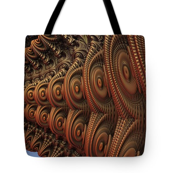 The Odd Beauty Of Fractals Tote Bag by Lyle Hatch