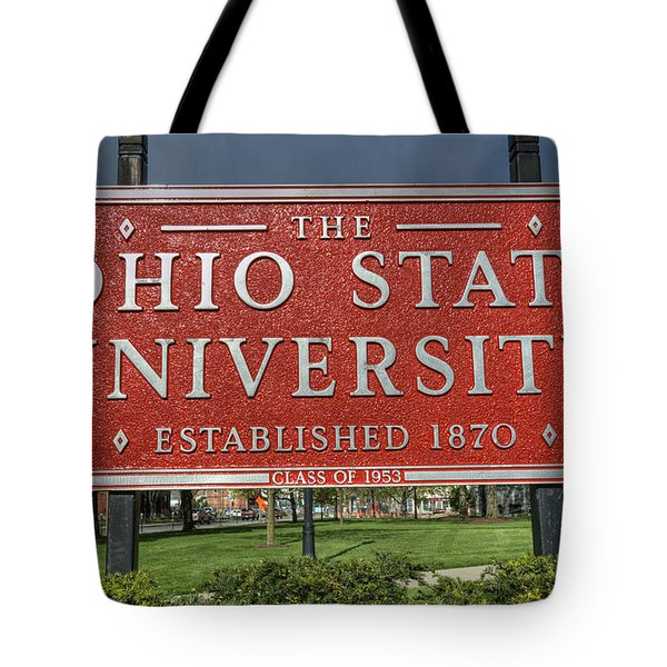 The Ohio State University Tote Bag by David Bearden