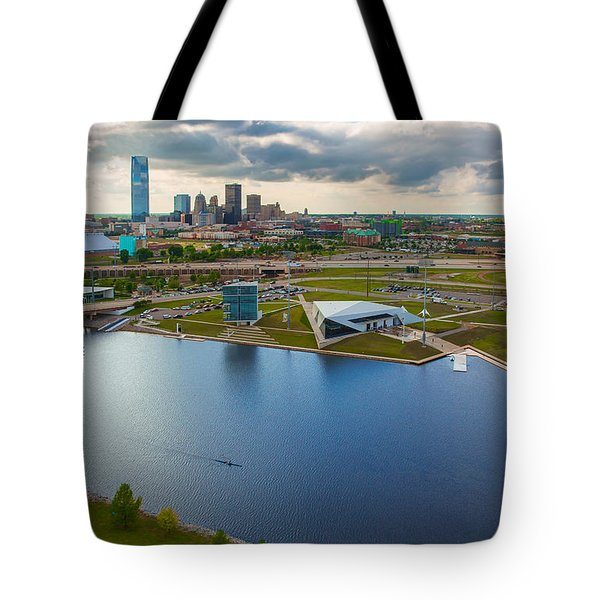 The Oklahoma River Tote Bag