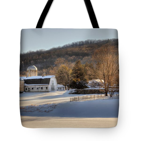 The Ol Homestead Tote Bag by Bill Wakeley
