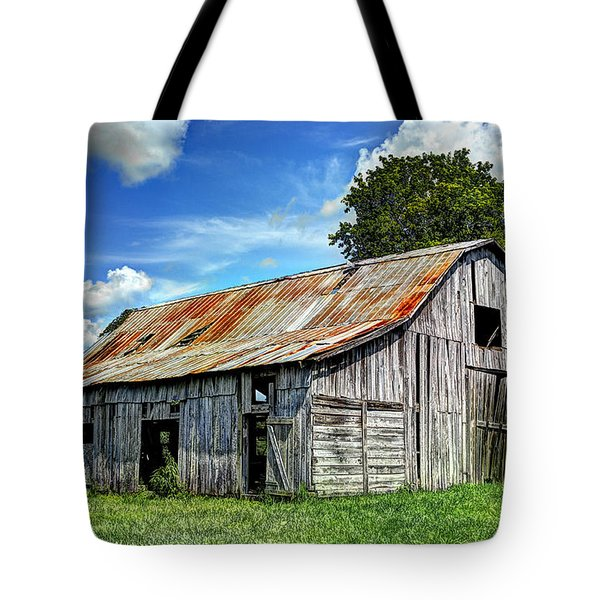 The Old Adkisson Barn Tote Bag