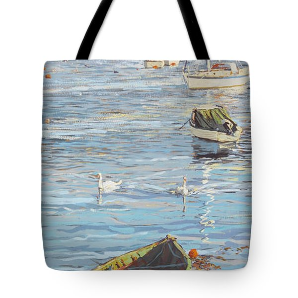The Old And The New Tote Bag by Martin Decent