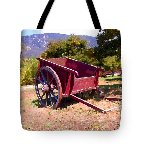 The Old Apple Cart Tote Bag