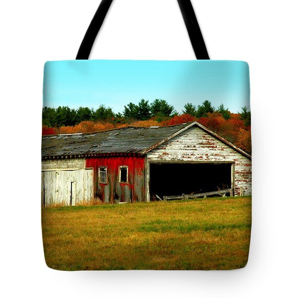 The Old Barn Tote Bag by Bruce Carpenter