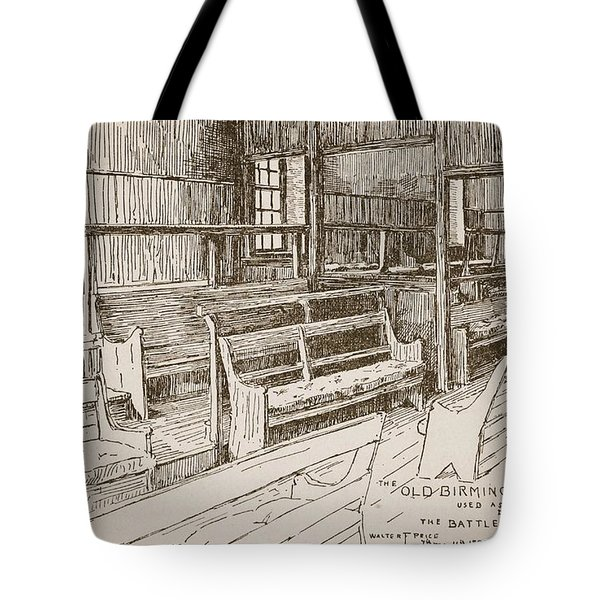 The Old Birmingham Meeting House, 1893 Tote Bag by Walter Price