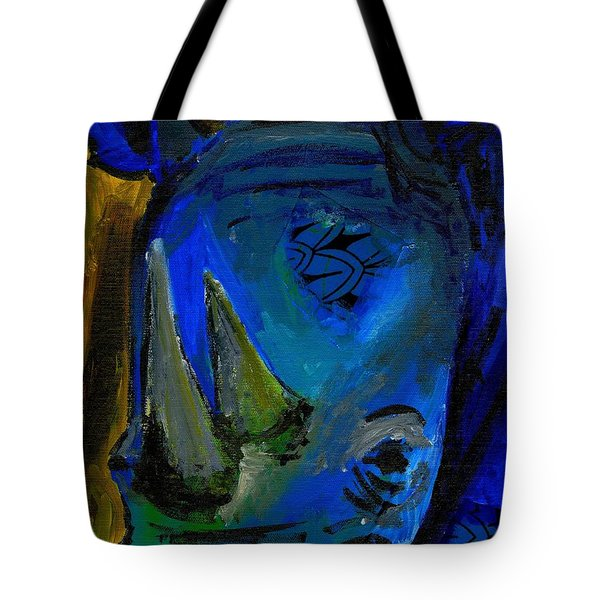The Old Blue Rhino Tote Bag