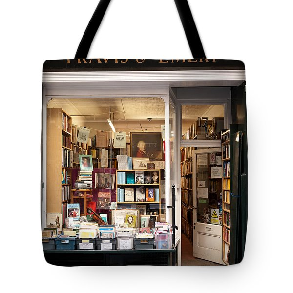 The Old Bookshop Tote Bag