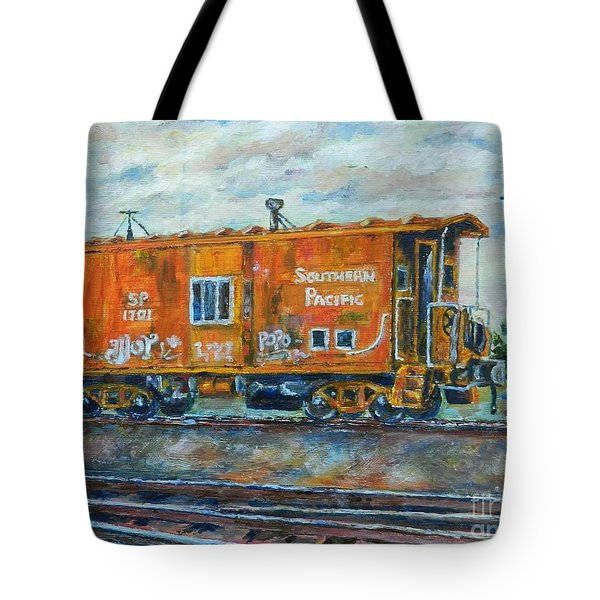 The Old Caboose Tote Bag