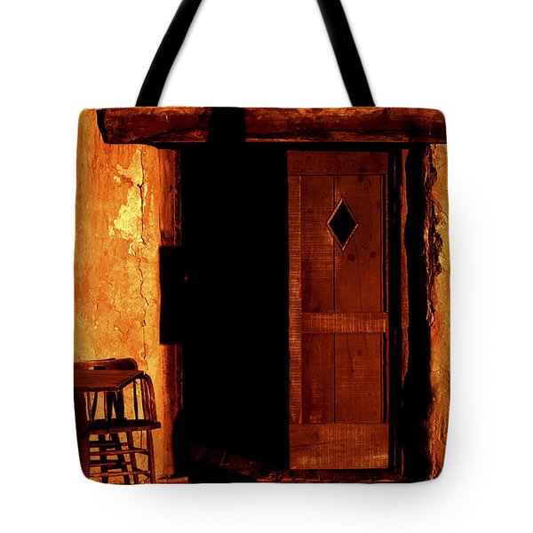 The Old Cantina Tote Bag by Paul W Faust -  Impressions of Light