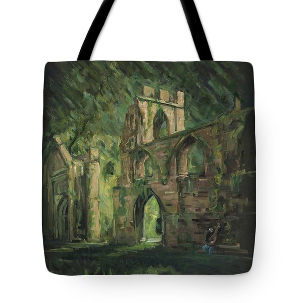 The Old Castle Tote Bag by Marco Busoni
