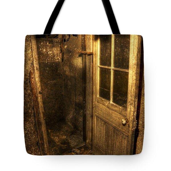 The Old Cellar Door Tote Bag by Dan Stone