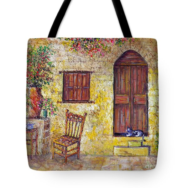 The Old Chair Tote Bag
