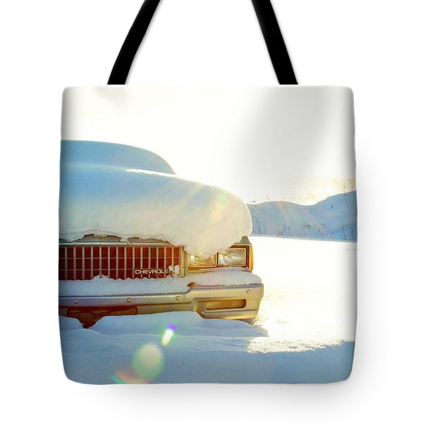 The Old Chevy Tote Bag by Alanna DPhoto