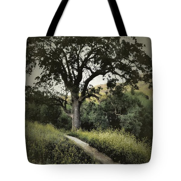 The Old Chumash Trail Tote Bag