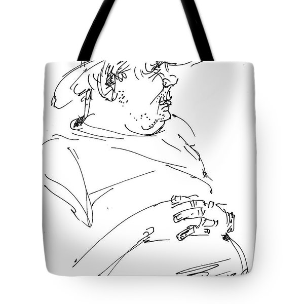 The Old Cowboy Tote Bag