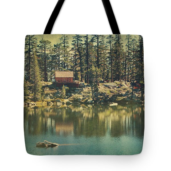 The Old Days By The Lake Tote Bag
