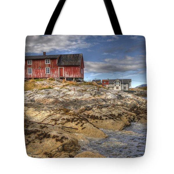 The Old Fisherman's Hut Tote Bag by Heiko Koehrer-Wagner
