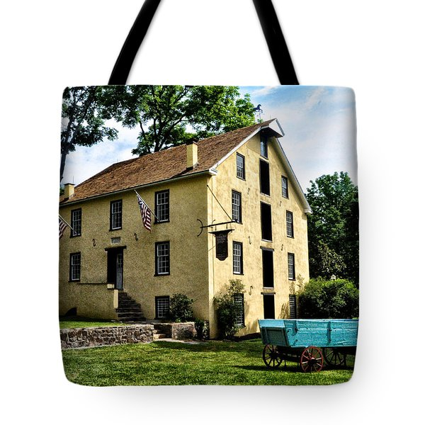 The Old Grist Mill  Paoli Pa. Tote Bag by Bill Cannon