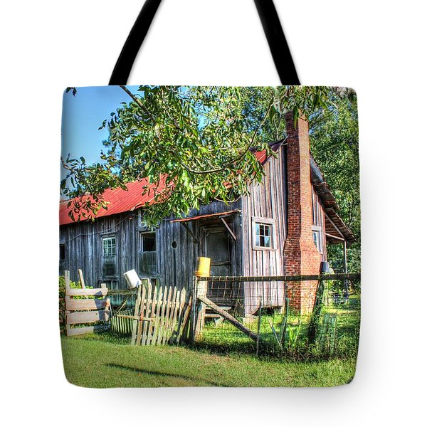Tote Bag featuring the photograph The Old Home Place by Lanita Williams