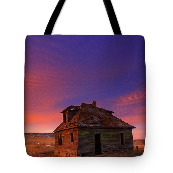Tote Bag featuring the photograph The Old House by Kadek Susanto