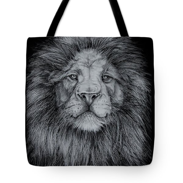 The Old Lion Tote Bag by Jean Cormier