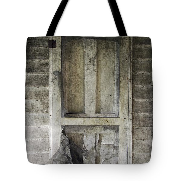 The Old Lowman Door Tote Bag by Brian Wallace