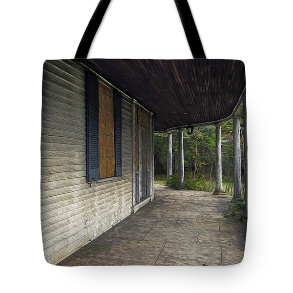 The Old Lowman House Tote Bag by Brian Wallace