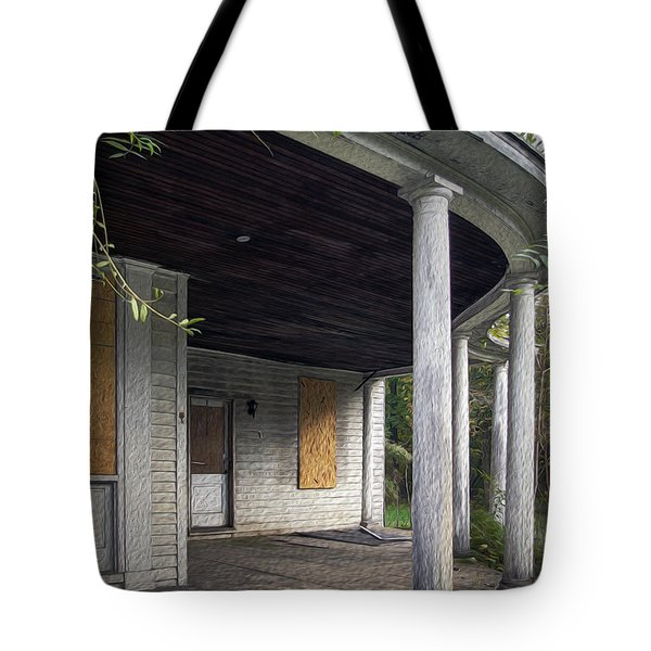 The Old Lowman Place Tote Bag by Brian Wallace