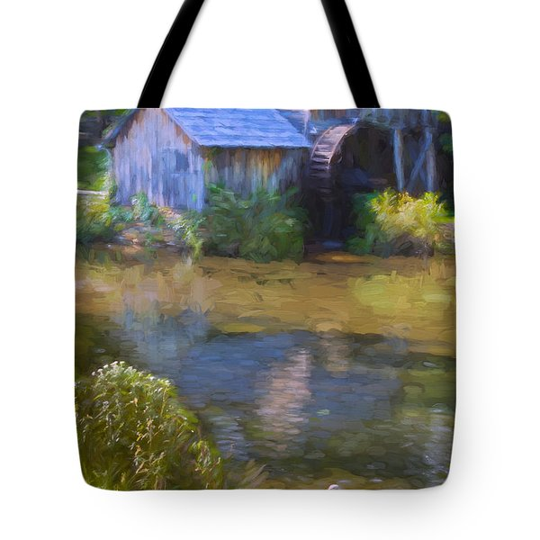 The Old Mill At Mabry Tote Bag