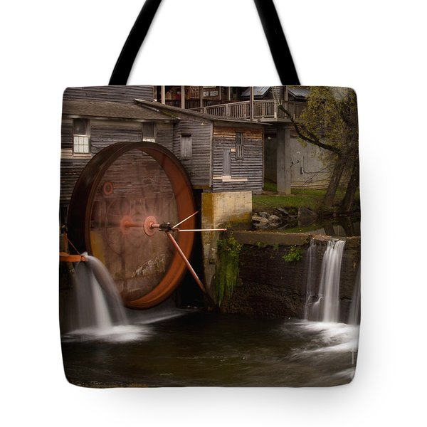 The Old Mill Detail Tote Bag