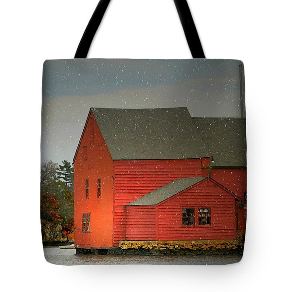 The Old Mill Kirby Pond Tote Bag by Diana Angstadt