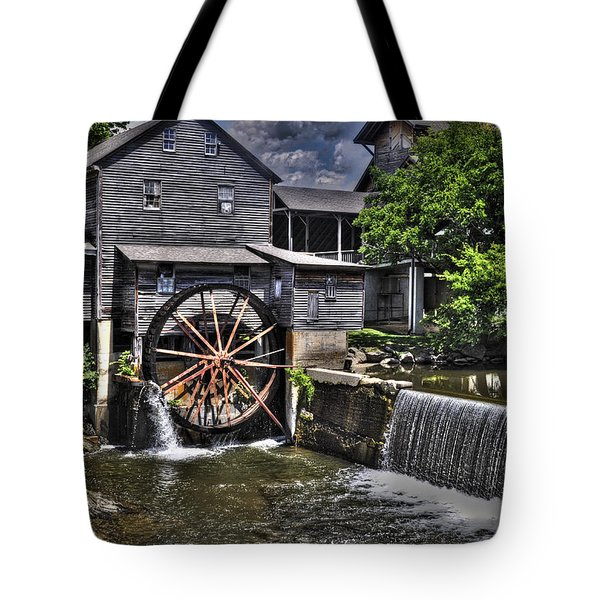 The Old Mill Restaurant Tote Bag by Deborah Klubertanz