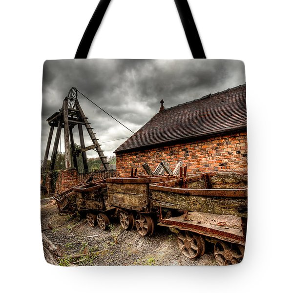 Tote Bag featuring the photograph The Old Mine by Adrian Evans