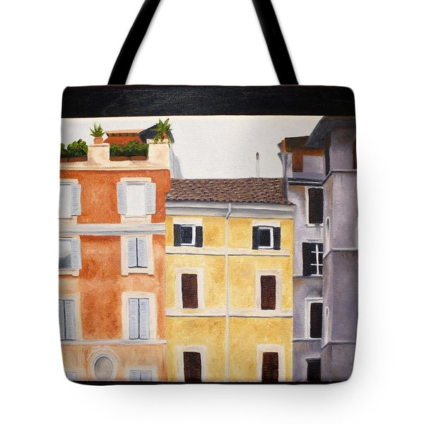 The Old Neighborhood Tote Bag by Karin Thue