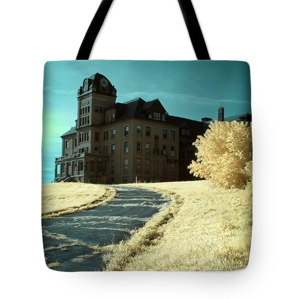 The Old Odd Fellows Home Color Tote Bag