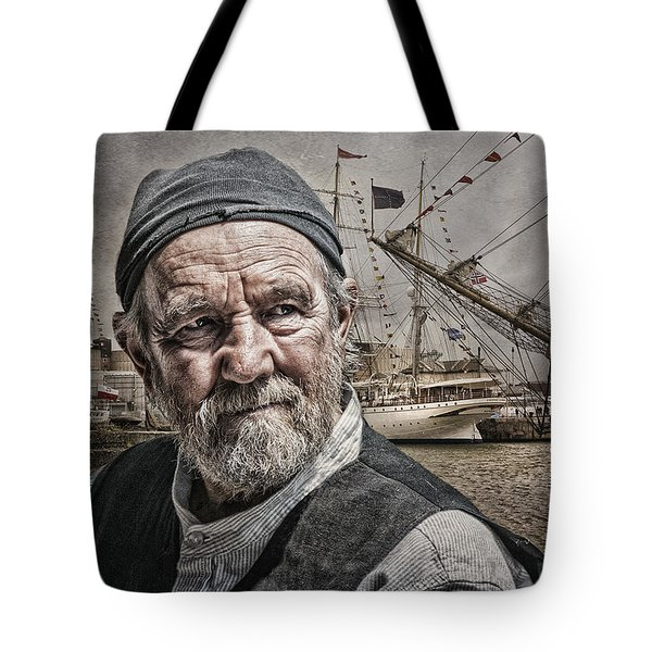 The Old Salt Tote Bag by Brian Tarr