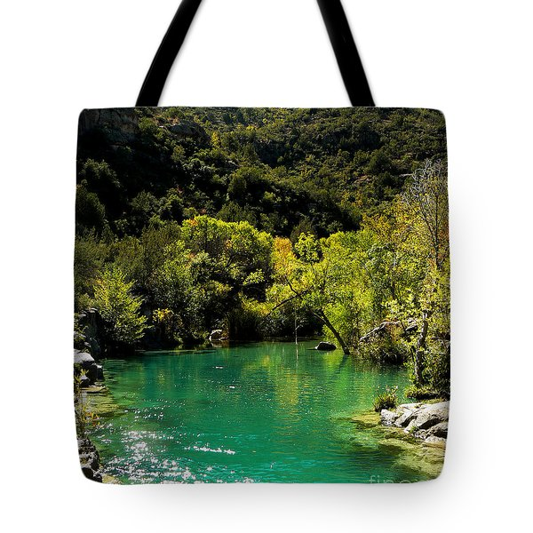 The Old Swimmin' Hole Tote Bag