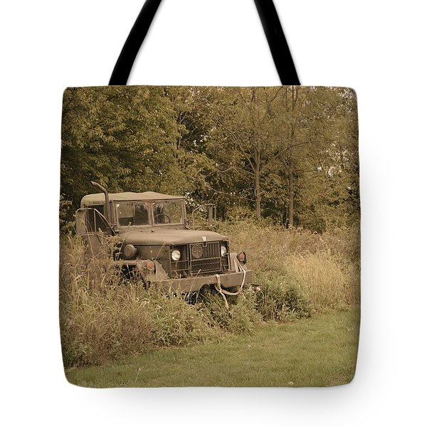 The Old Truck Tote Bag