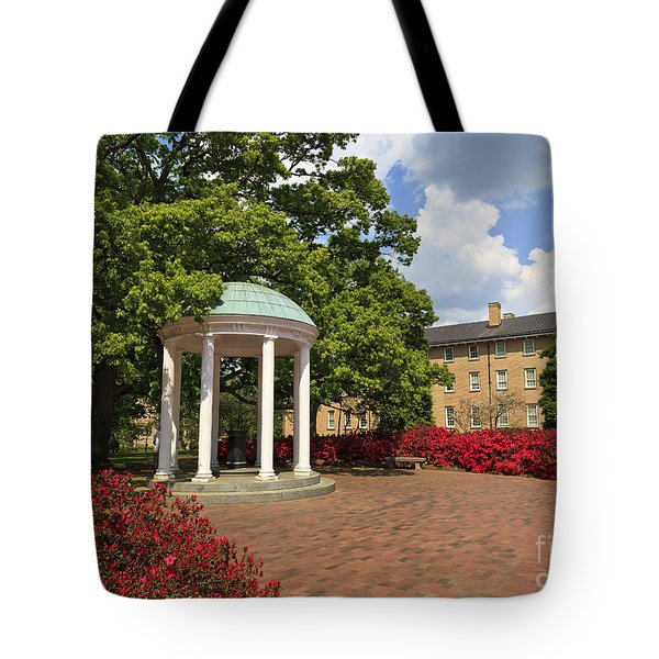 The Old Well At Chapel Hill Campus Tote Bag