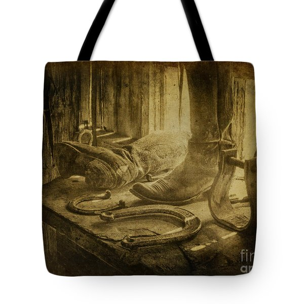The Old West Tote Bag by Erika Weber