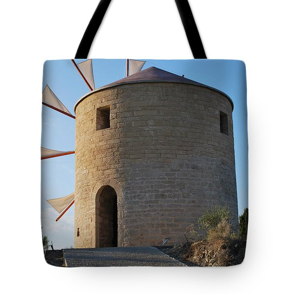 The Old Windmill 1830 Tote Bag