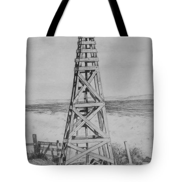 Lonely Windmill Tote Bag