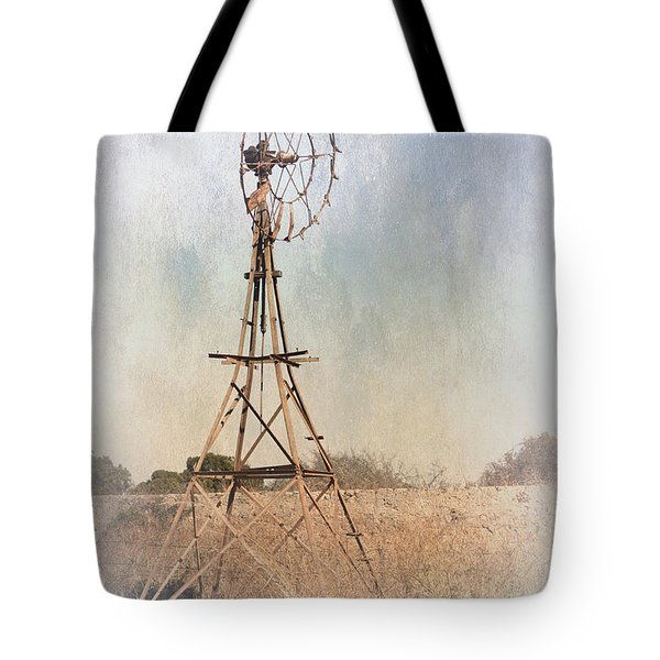 The Old Windmill Tote Bag by Elaine Teague