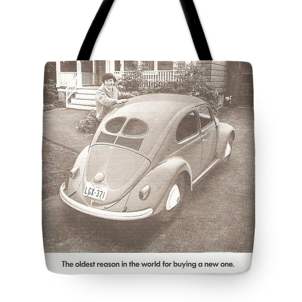 The Oldest Reason In The World For Buying A New One Tote Bag by Georgia Fowler