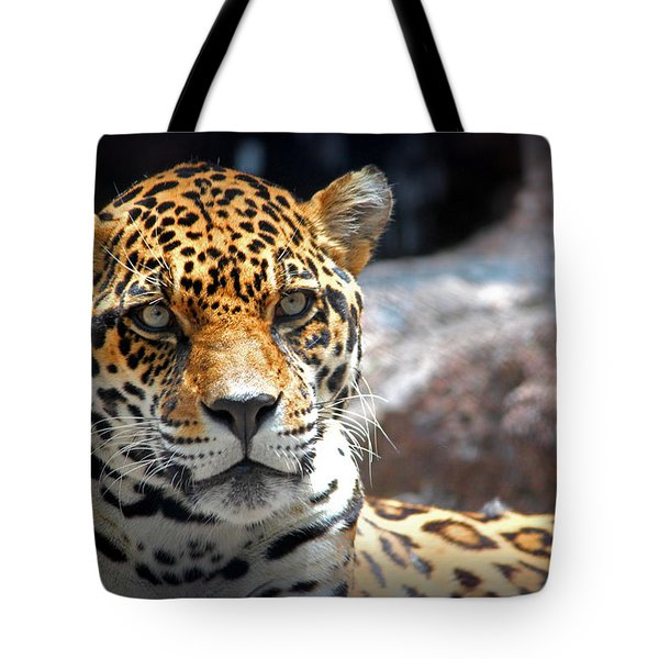 Tote Bag featuring the photograph The Ole Leopard Don't Change His Spots by Lynn Sprowl