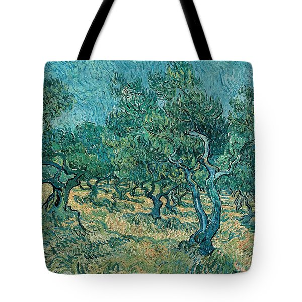 The Olive Grove Tote Bag by Vincent van Gogh