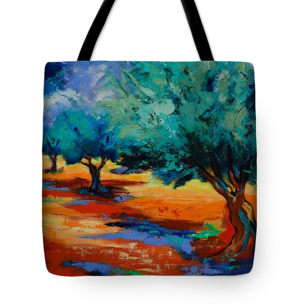 The Olive Trees Dance Tote Bag